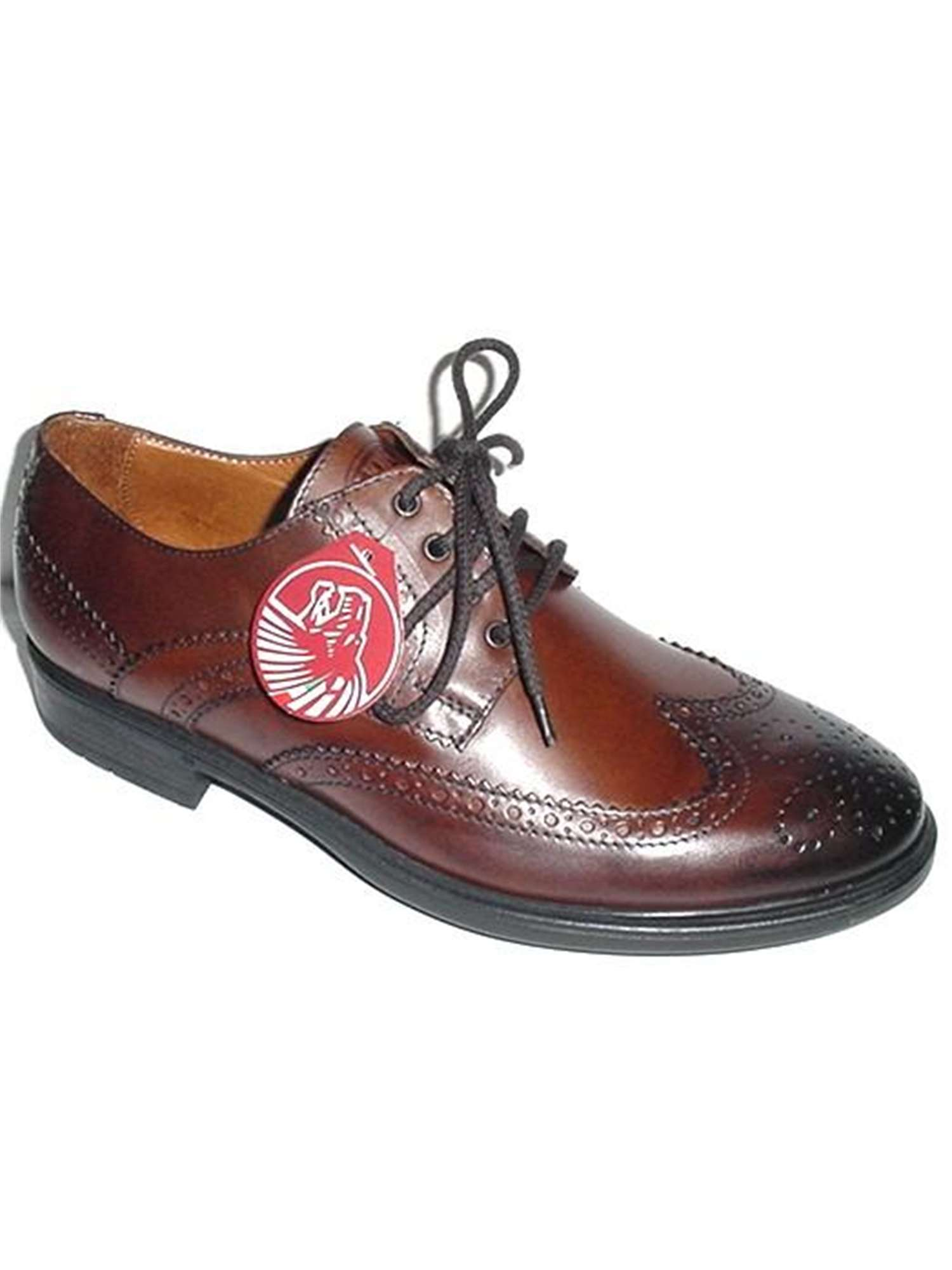 Lion Shoes Lacci Scarpa Tipo Inglese Marron  bf26a081df7