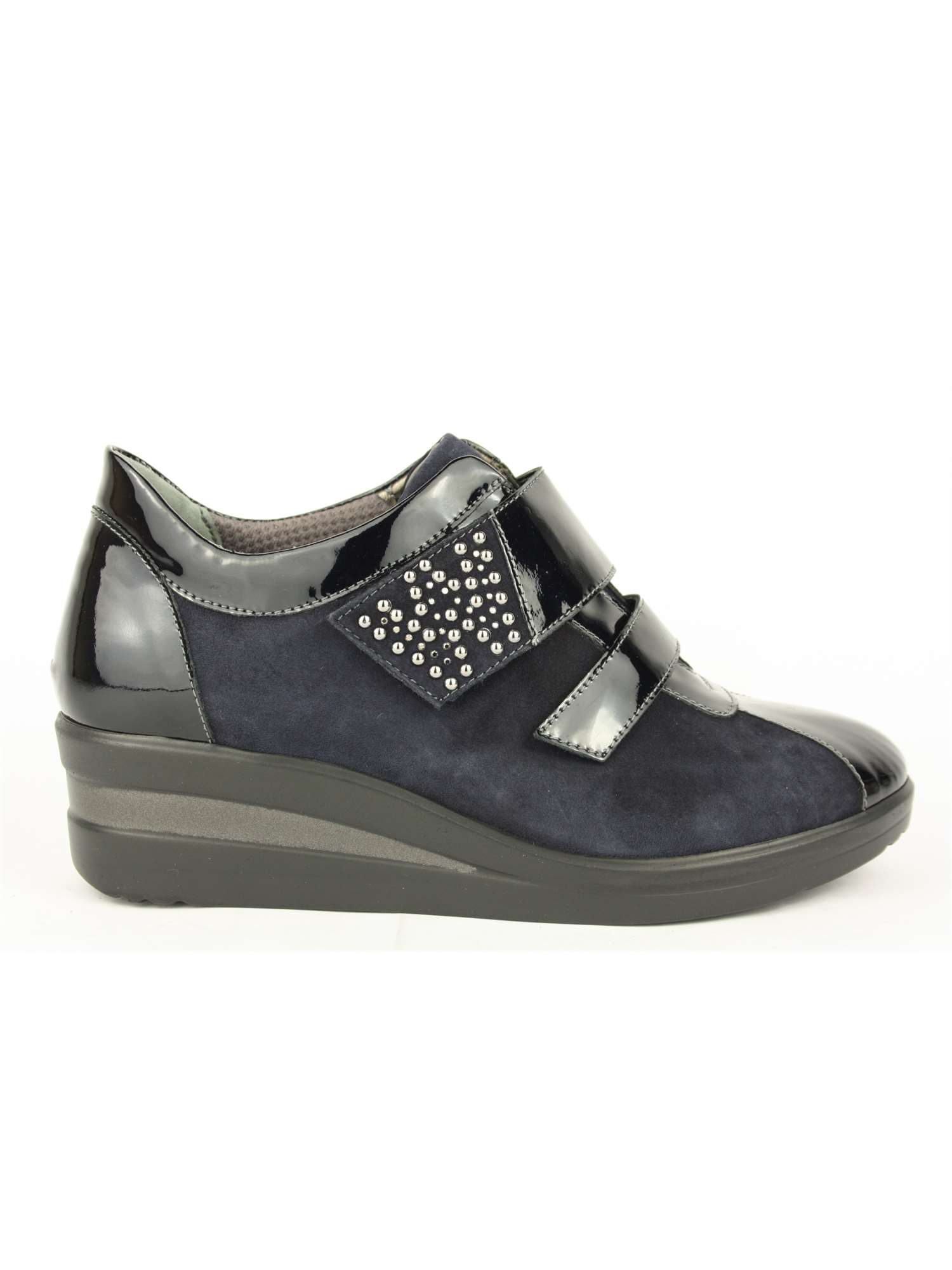 the latest b3afa db413 Melluso Velcro Blu   Velcro Donna Vernice   Tania Calzature Bari