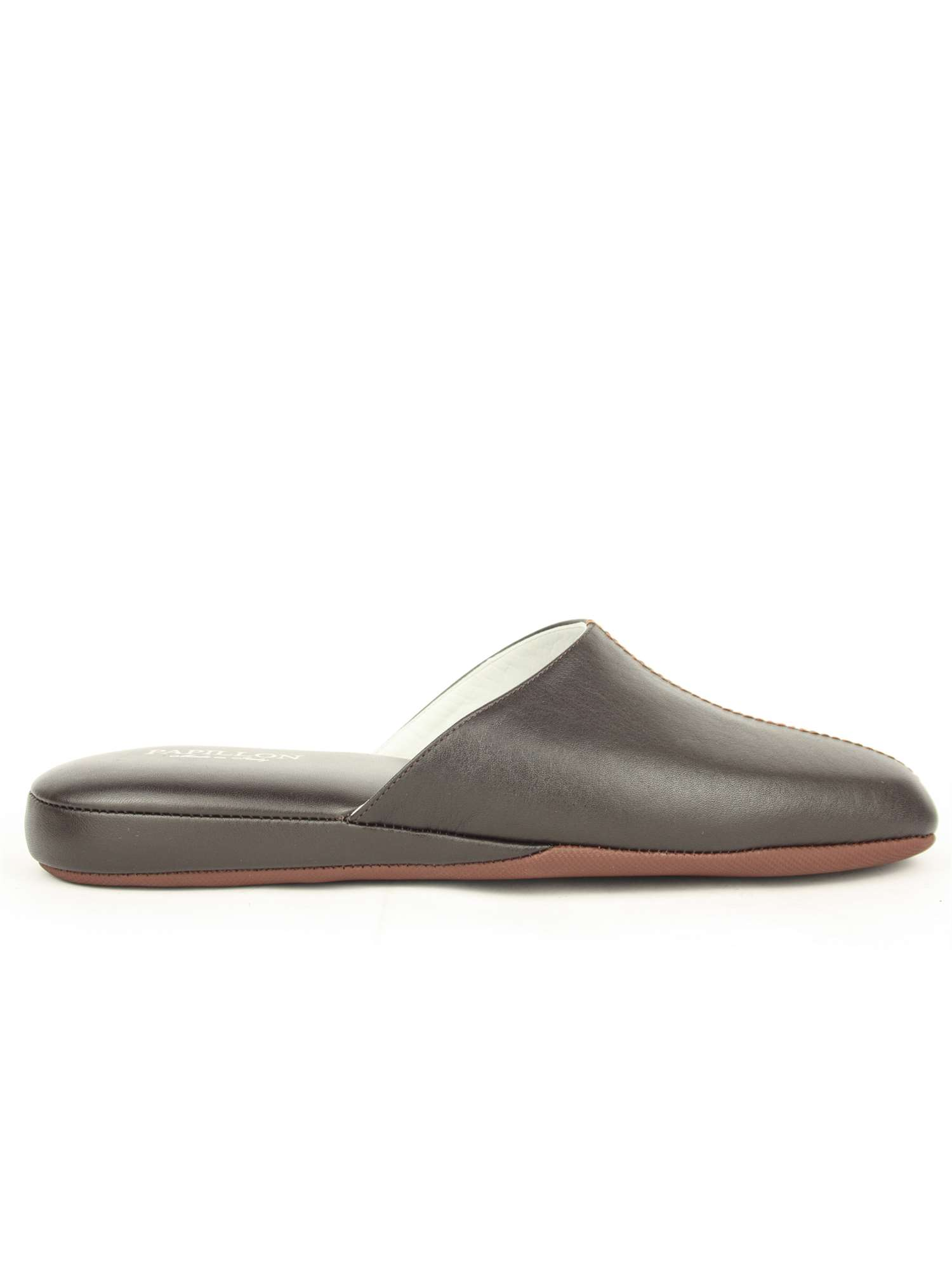 91f63b68a1889 Papillon Pantofola Punta Chiusa Marron
