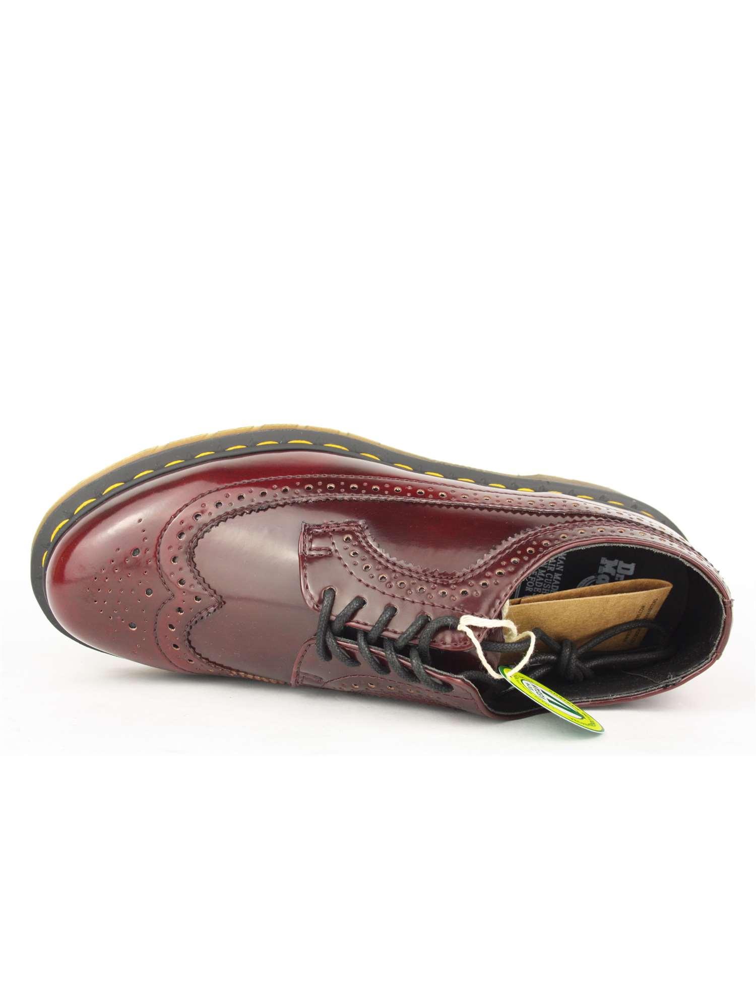 Dr. Martens Lacci Scarpa Tipo Inglese Bordeaux  9a1a1391d54