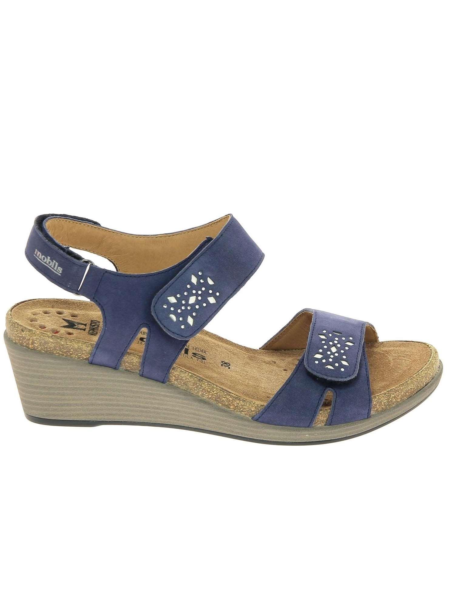 online store db487 1ee0d Mephisto Donna Sandalo Jeans | Sandalo Donna Nubuk | Tania ...