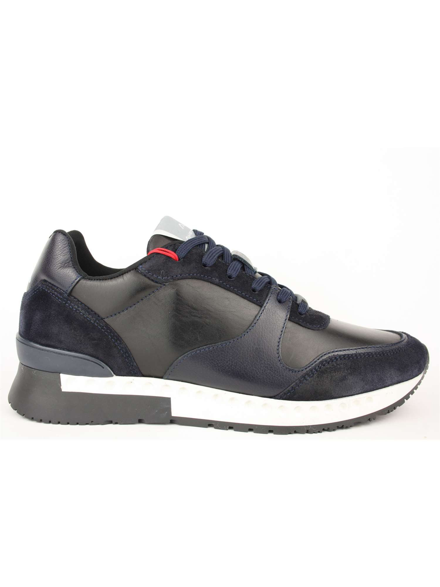 Ambitious Shoes Sneakers Blu | Sneakers Uomo Pelle+cam