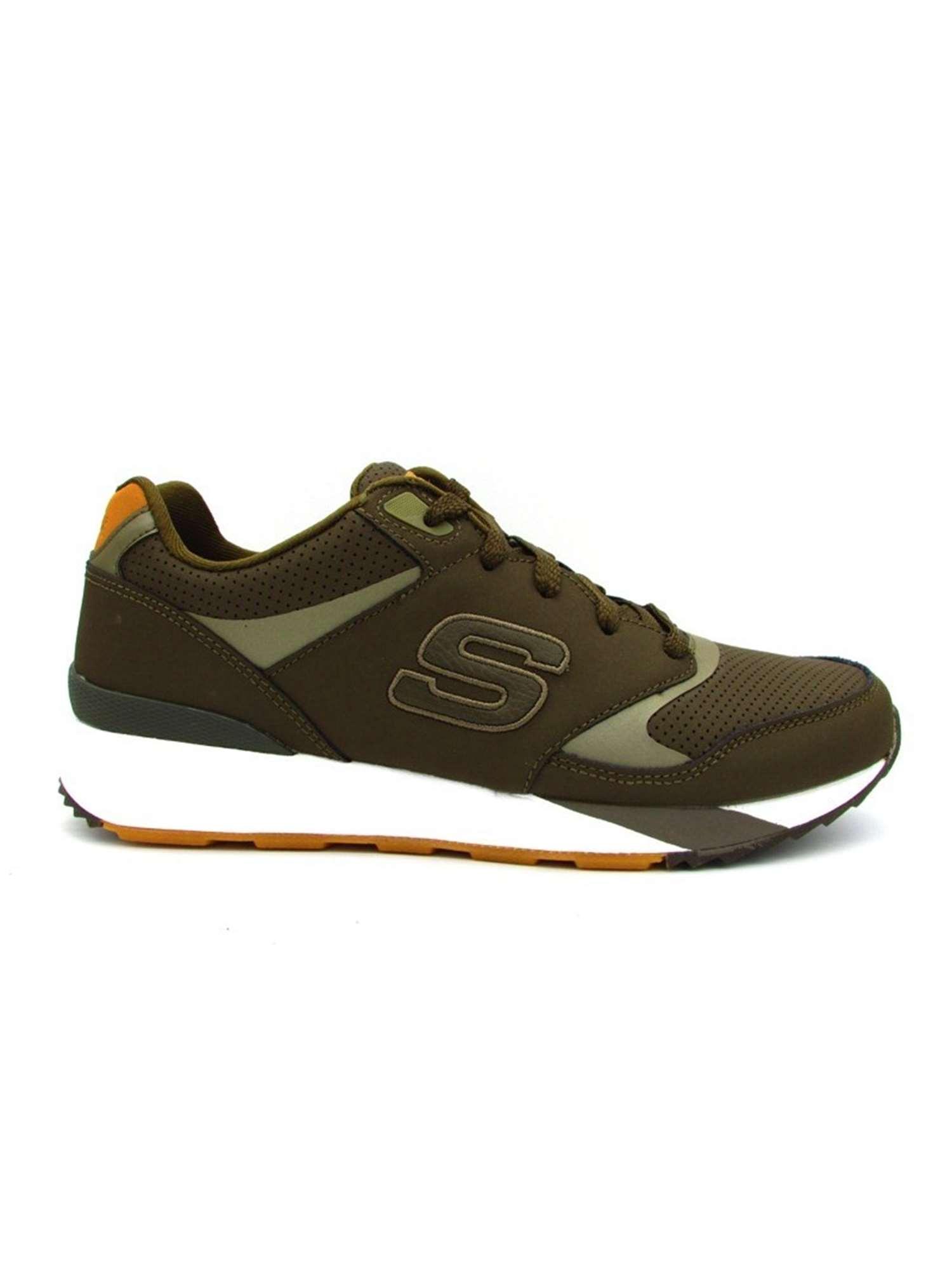 Skechers Sneakers Verde | Sneakers Uomo Ecopelle | Tania ...