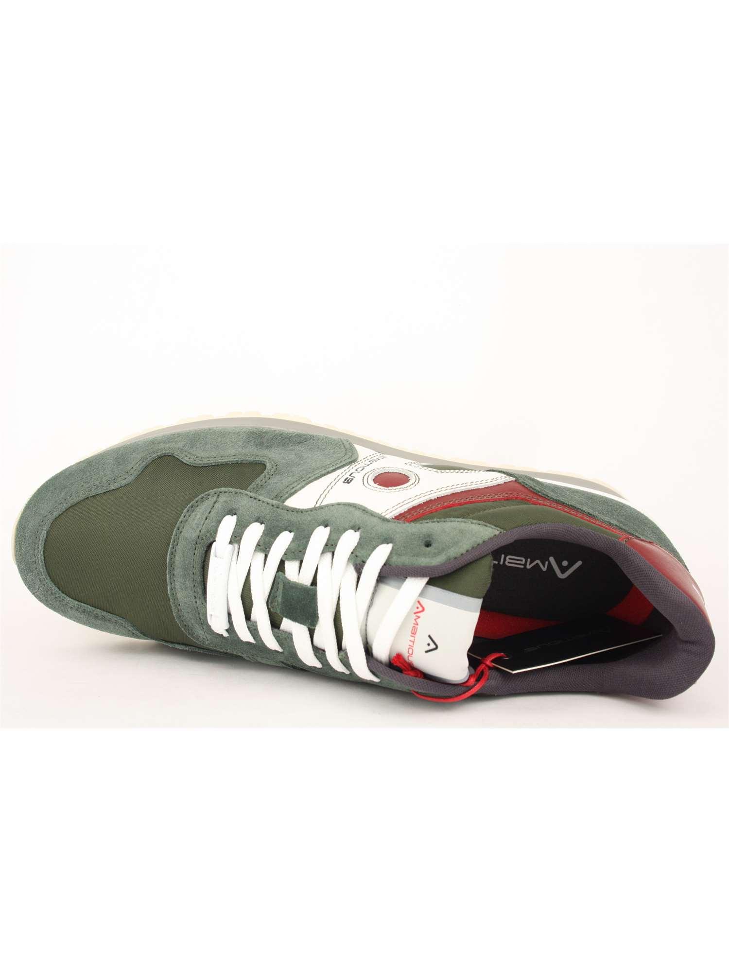 Ambitious Shoes Lacci Verde  7da1e3ffab6
