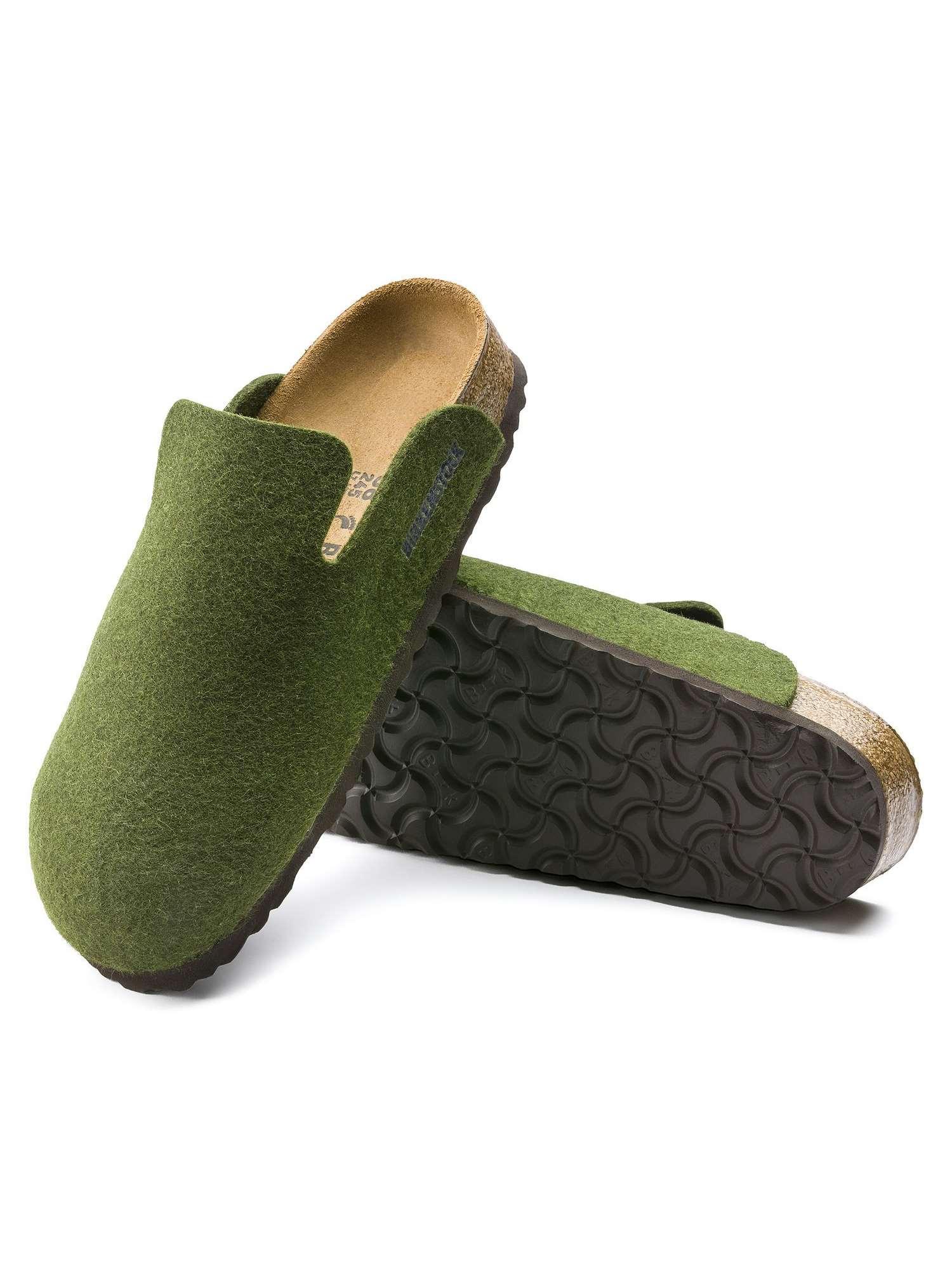 Negoziare nulla Riuscito  Birkenstock Pantofola Punta Chiusa Verde   Pantofola Punta Chiusa Uomo  Feltro   Tania Calzature Bari