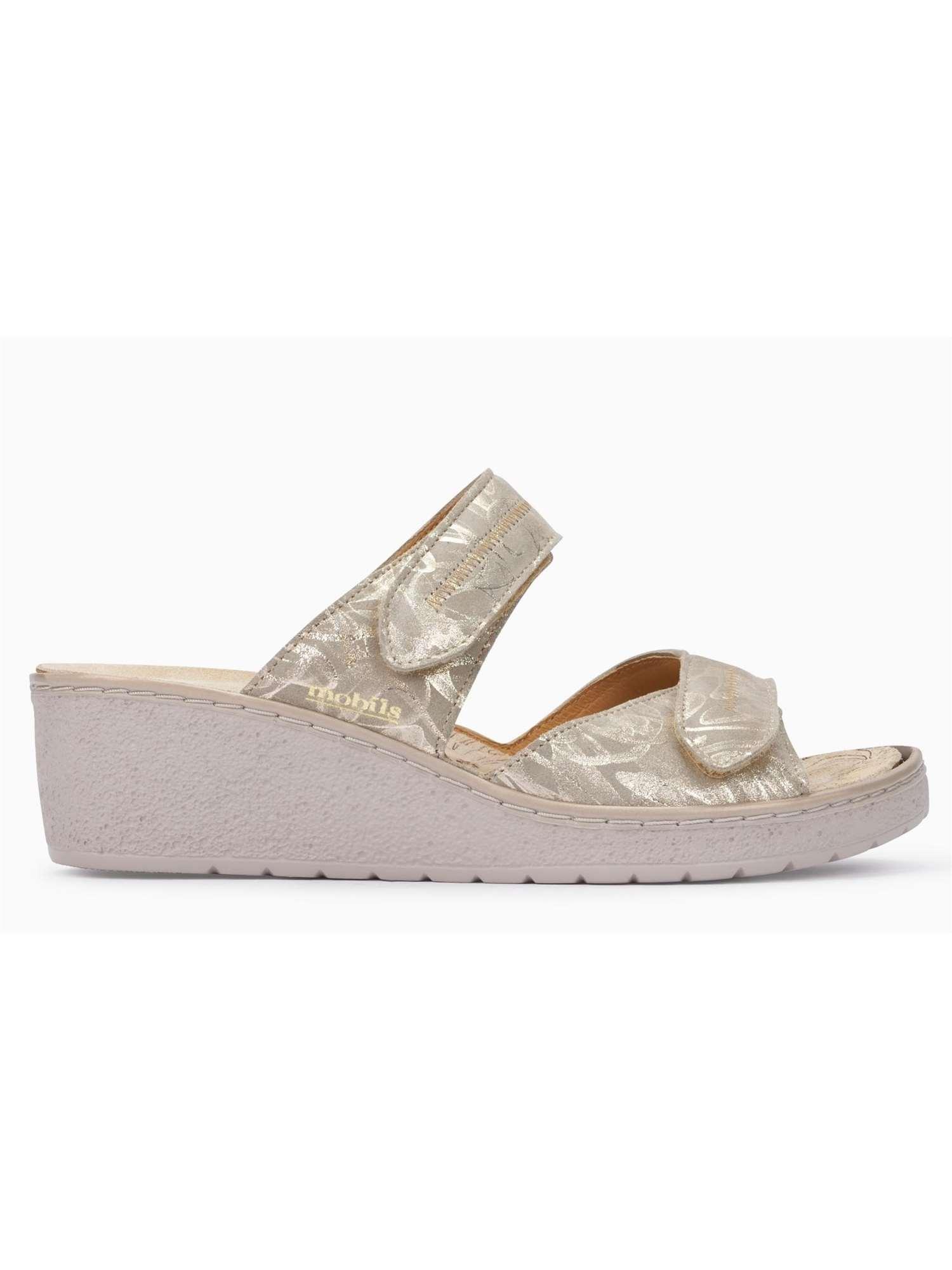 Sandalo Ciabatta Platino Donna Mephisto 1tlfkjc CoBrdxe